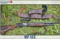 МР-133. Характеристика и предназначение ружья